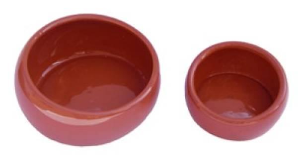 Bilde av Keramikskål stor brun