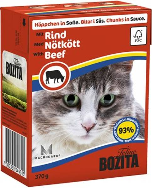 Bilde av Bozita oksekjøtt i saus